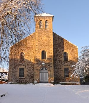Abbeygreen in winter (c) Gordon Baird